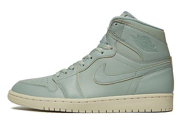 Jordan Jordan Air 1 High - Green - Mens SOLEHEAVEN