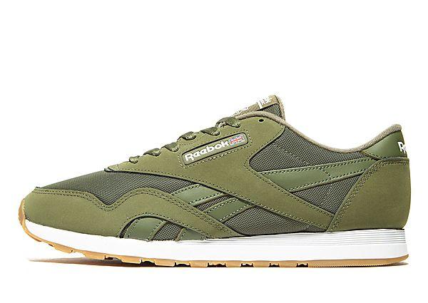 Buy Reebok Reebok CL Nylon - Green - Mens JD Sports online now at Soleheaven Curated Collections