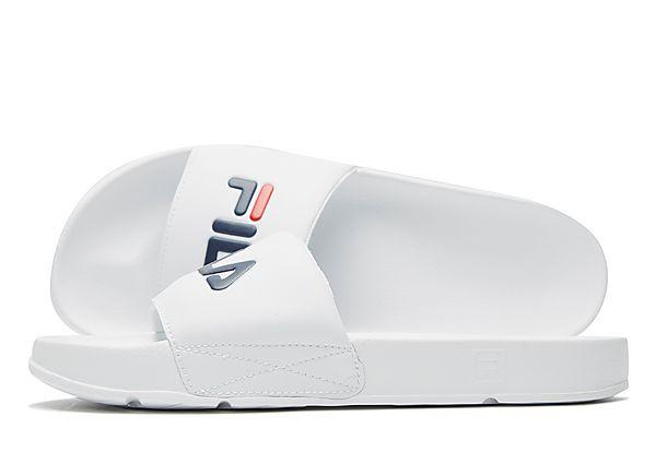 Buy Fila Fila Drifter Slides - White - Mens JD Sports online now at Soleheaven Curated Collections