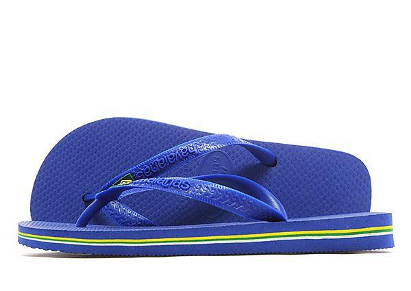 Buy Havaianas Havaianas Brazil Flip Flops - Dark Blue/Yellow/Green - Mens JD Sports online now at Soleheaven Curated Collections