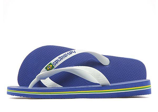 Buy Havaianas Havaianas Brazil Logo Flip Flops - Blue - Mens JD Sports online now at Soleheaven Curated Collections