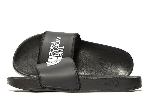 Soleheaven-stencil The North Face Slides - Black/White - Mens SOLEHEAVEN