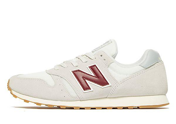 Buy Soleheaven-stencil New Balance 373 - White/Burgundy/Gum - Mens JD Sports online now at Soleheaven Curated Collections