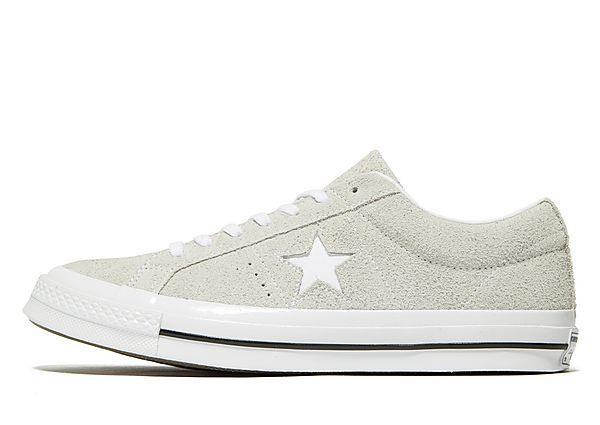 Buy Soleheaven-stencil Converse One Star Suede - Grey - Mens JD Sports online now at Soleheaven Curated Collections