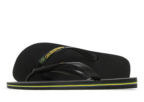 Buy Havaianas Havaianas Brazil Logo Flip Flops - Black - Mens JD Sports online now at Soleheaven Curated Collections