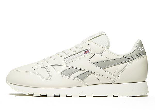 Reebok Reebok Classic Leather - White/Grey - Mens SOLEHEAVEN