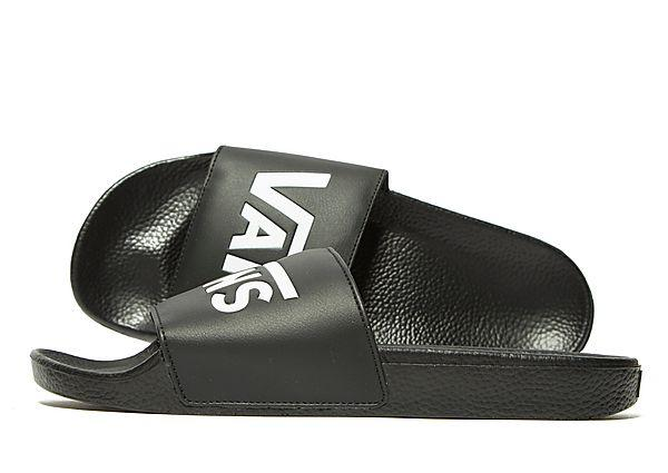 Buy Vans Vans Slides - Black - Mens JD Sports online now at Soleheaven Curated Collections