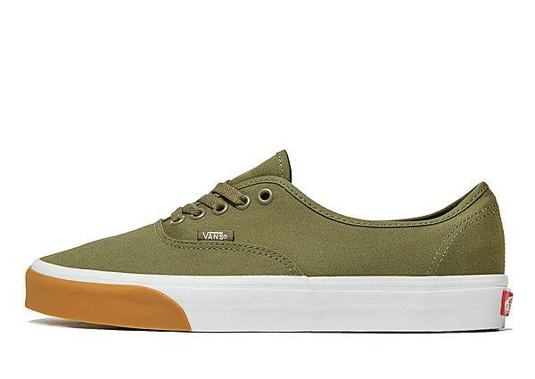 Vans Vans Authentic - Olive/Gum - Mens SOLEHEAVEN