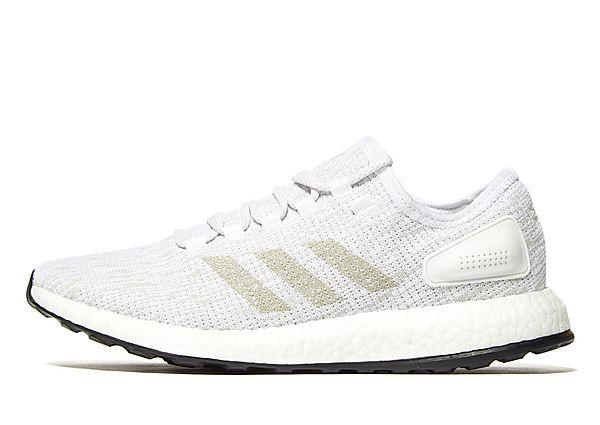 Adidas adidas Pure Boost - White/Grey - Mens SOLEHEAVEN