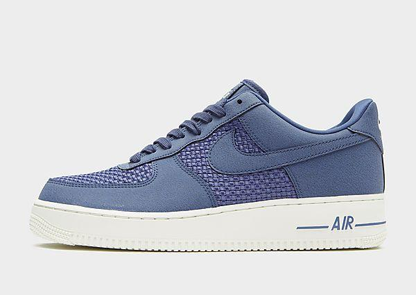Buy Nike Nike Air Force 1 Low - Blue/White - Mens JD Sports online now at Soleheaven Curated Collections