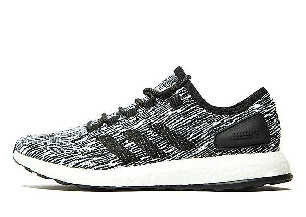 Adidas adidas Pure Boost - Black/White - Mens SOLEHEAVEN