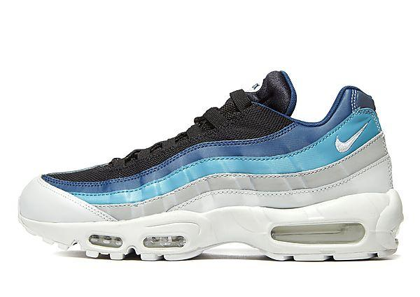 Nike Nike Air Max 95 Essential - Blue/White/Black - Mens SOLEHEAVEN