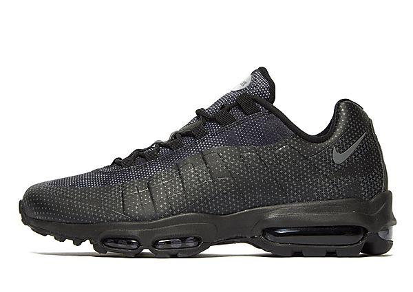 Buy Nike Nike Air Max 95 Ultra Essential - Black/Green - Mens JD Sports online now at Soleheaven Curated Collections