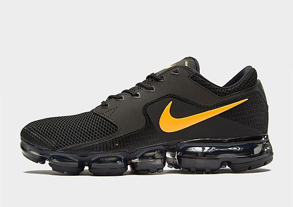 Nike Nike Air VaporMax - Black/Orange - Mens SOLEHEAVEN