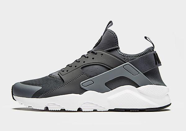 Nike Nike Air Huarache Ultra - Grey/White - Mens SOLEHEAVEN