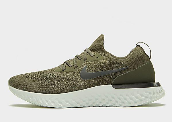Nike Epic React Flyknit - Khaki - Mens