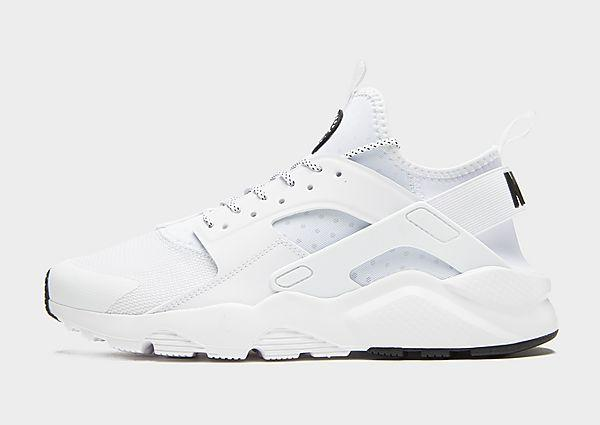 Nike Nike Air Huarache Ultra - White/Black - Mens SOLEHEAVEN