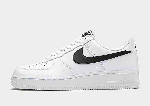 Nike Nike Air Force 1 Low - White/Black - Mens SOLEHEAVEN
