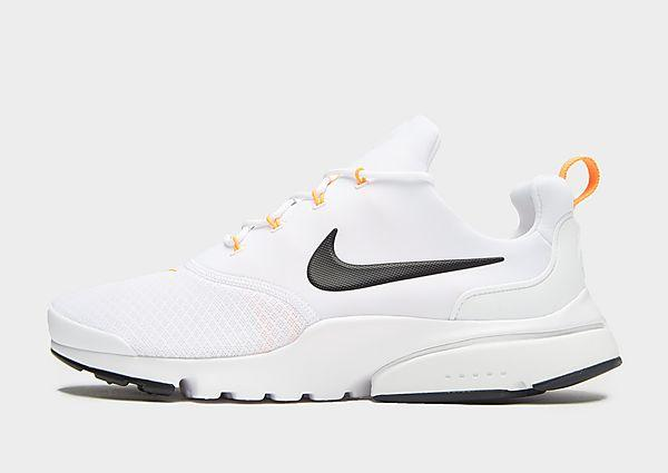 Nike Nike Air Presto Fly 'Just Do It' - White/Orange - Mens SOLEHEAVEN