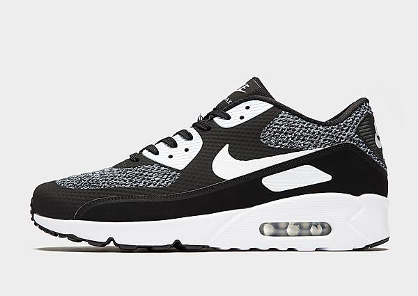 Nike Nike Air Max 90 Ultra 2.0 - Black/White - Mens SOLEHEAVEN