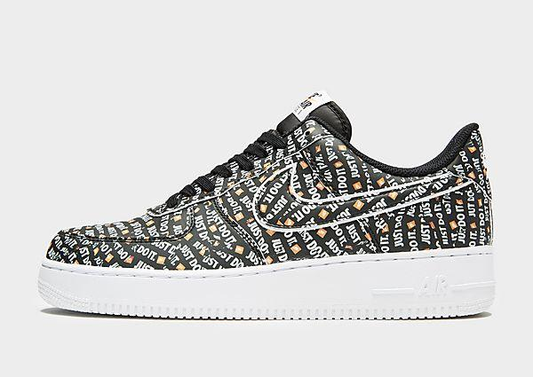 0f3359984fb Nike Nike Air Force 1 Low  Just Do It  - Black White
