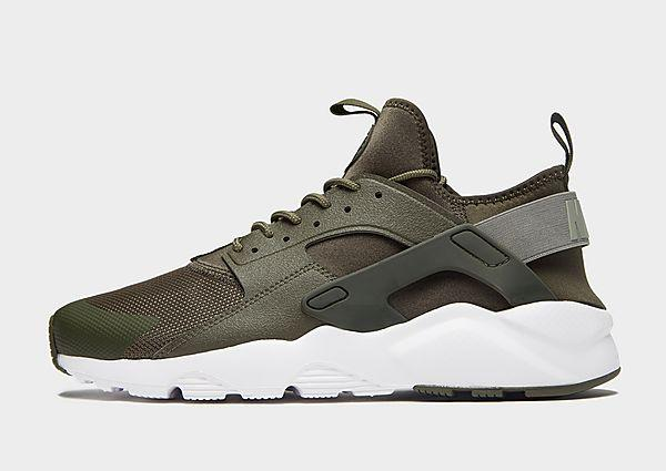 Nike Nike Air Huarache Ultra - Green - Mens SOLEHEAVEN