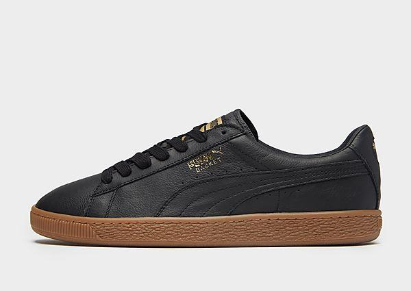 Puma PUMA Basket Classic Leather - Black - Mens SOLEHEAVEN