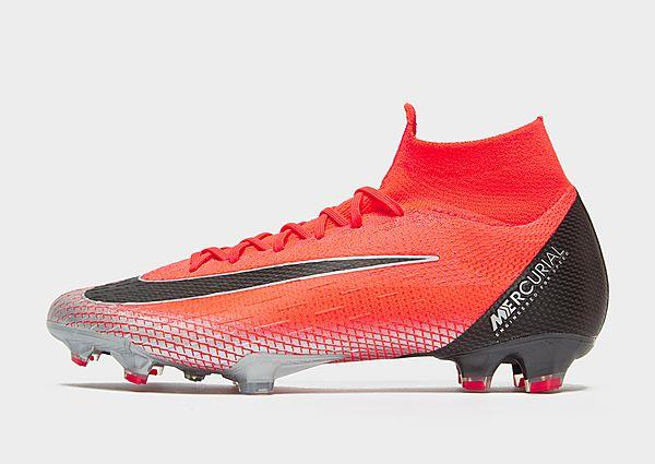 Nike CR7 Chapter 7 Mercurial Superfly Elite FG - Red - Mens