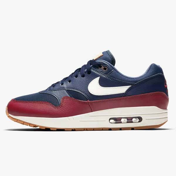 Nike Nike Air Max 1  Navy   Team Red  at Soleheaven Curated Collections 3c6553f0e