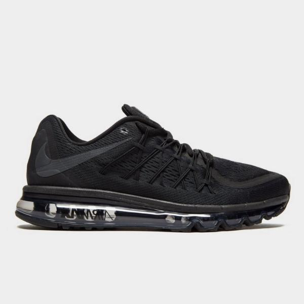 697ba199fed Nike Nike Air Max 2015  Triple Black  SOLEHEAVEN
