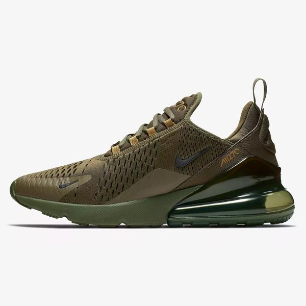 low priced 859c2 9cdf9 Nike Nike Air Max 270  Olive Canvas  SOLEHEAVEN
