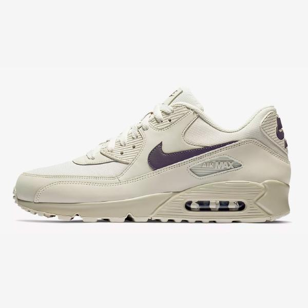 99108c350 Nike Nike Air Max 90 Essential  Light Bone   Thunder Grey  at ...