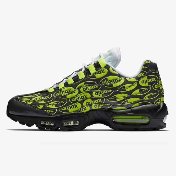 Nike Nike Air Max 95 All Over Logo 'Volt' at Soleheaven Curated Collections