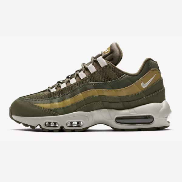 new style fd6b6 01749 Nike Air Max 95 Essential Olive Canvas