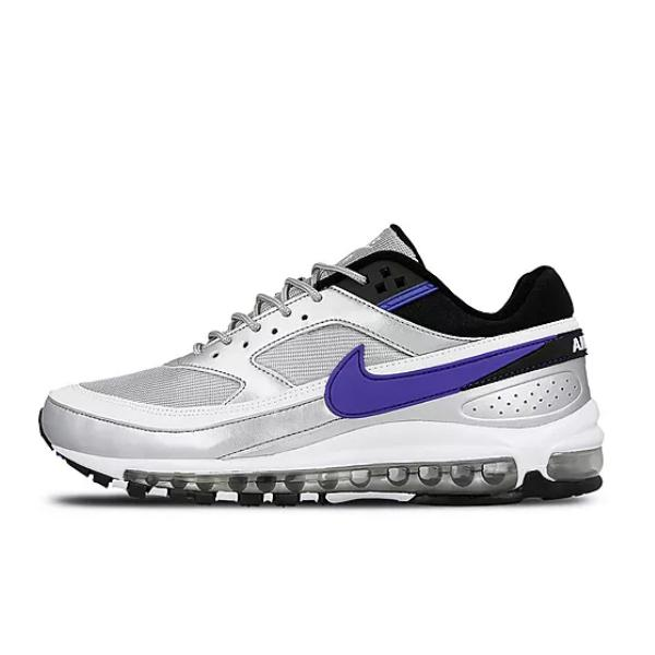 Nike Air Max 97 Silver Purple Flash Sales, UP TO 67% OFF