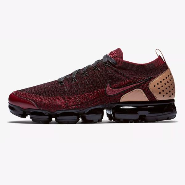 Buy Nike Nike Air Vapormax Flyknit 2 NRG 'Team Red / Vachetta Tan' nike online now at Soleheaven Curated Collections