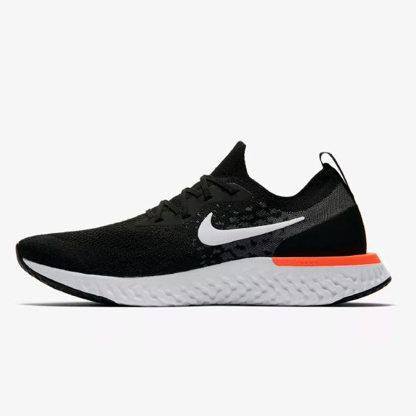 Nike Epic React Flyknit 'Black / Hyper Crimson'