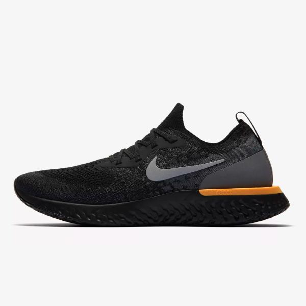 Nike Epic React Flyknit 'Black / Laser'