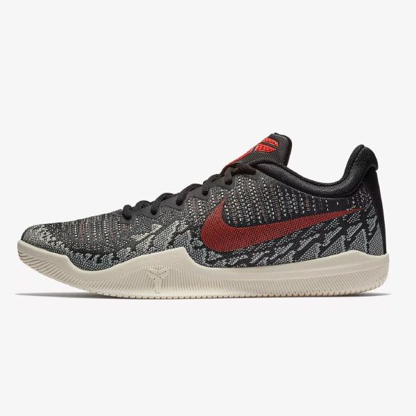 Nike Mamba Rage 'Black / Bright Crimson'