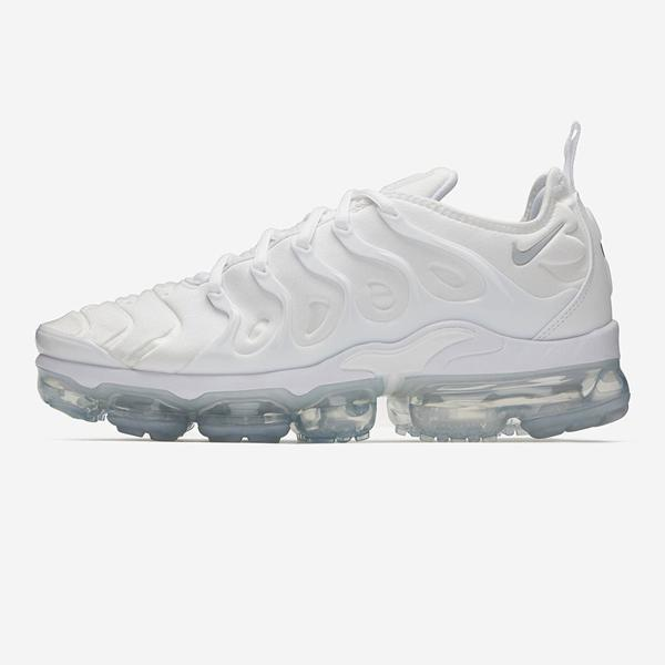 newest ecdc1 0dce6 Nike Nike Vapormax Plus 'Triple White' at Soleheaven Curated Collections