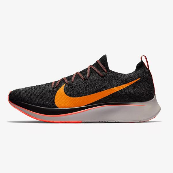 Nike Zoom Fly Flyknit 'Black / Orange Peel'