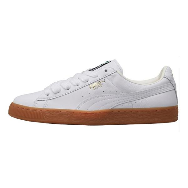 Buy Puma Puma Basket 'White / Gum' M & M Direct online now at Soleheaven Curated Collections
