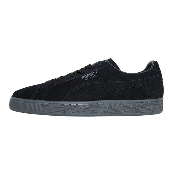 Puma Suede 'Black / Grey'