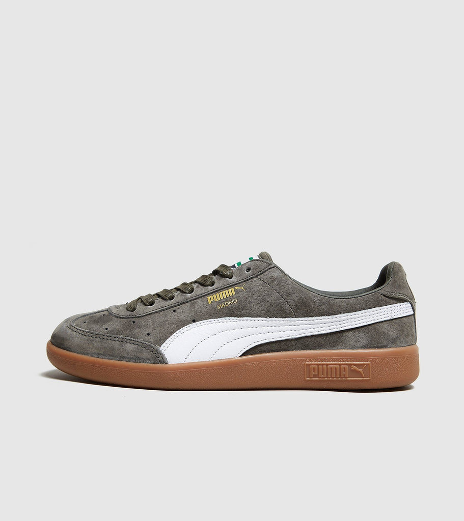 Puma PUMA Madrid, Green/White SOLEHEAVEN