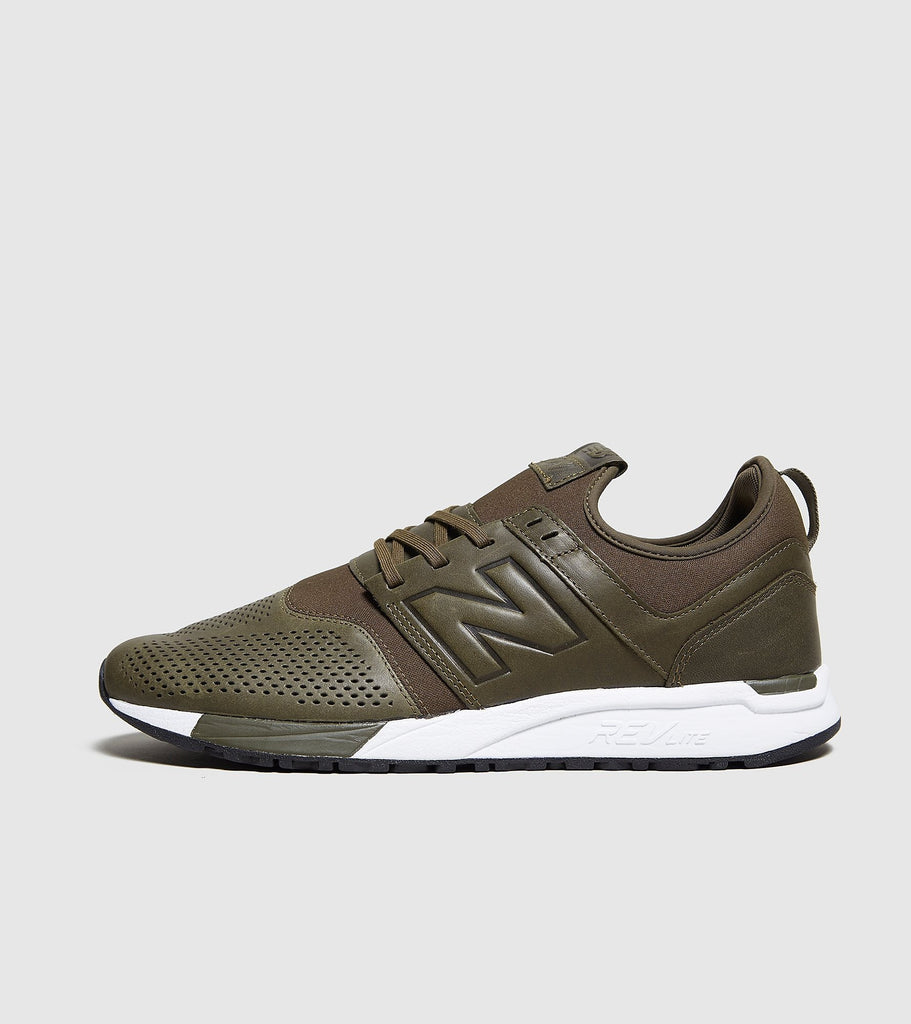 Buy New Balance New Balance 247, Green/White size? online now at Soleheaven Curated Collections