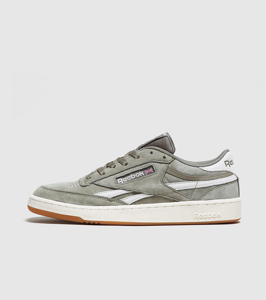 Buy Reebok Reebok Revenge Suede, Green/White size? online now at Soleheaven Curated Collections