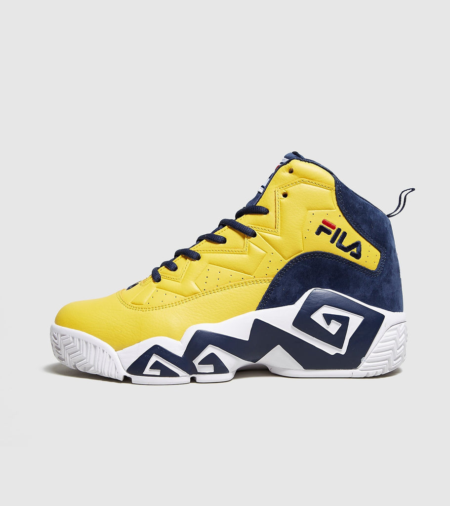 Buy Fila Fila MB, Yellow/Navy size? online now at Soleheaven Curated Collections