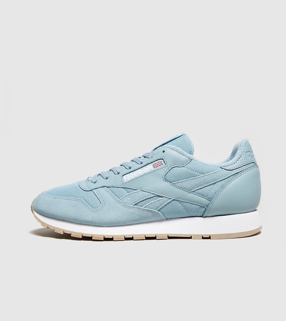 Reebok Reebok Classic Leather, Blue/White SOLEHEAVEN