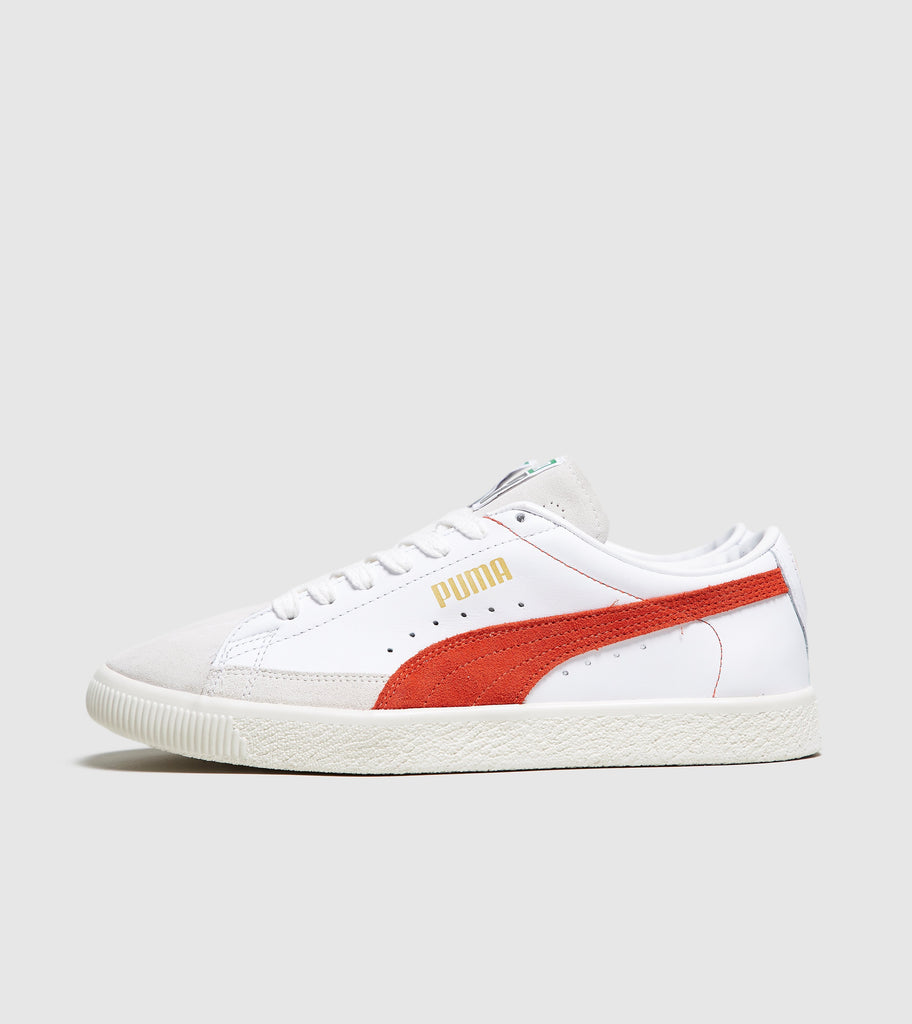 Buy Puma PUMA Basket OG, White/Red size? online now at Soleheaven Curated Collections