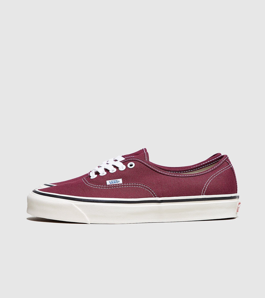 Buy Vans Vans Anaheim Authentic 44 DX, Burgundy size? online now at Soleheaven Curated Collections